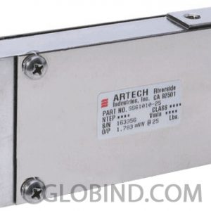 Single point load cell Artech SS61010CW Division 3000 Capacities 25 lb - 50 lb