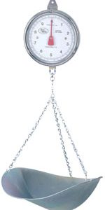 globin - images - Hanging Mechanical Scale Accu-weigh CKM