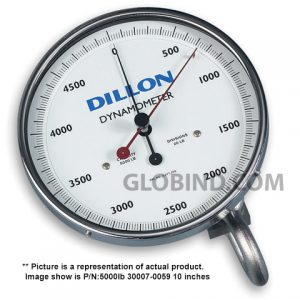 Dynamometer Dillon AP 30007-0125 2000 Kg 10 inches- Front View